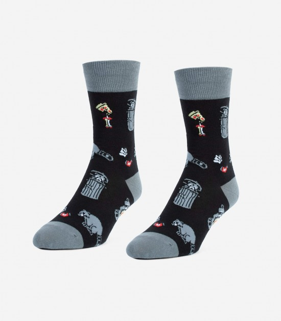 Raccoons Unisex Small Socks
