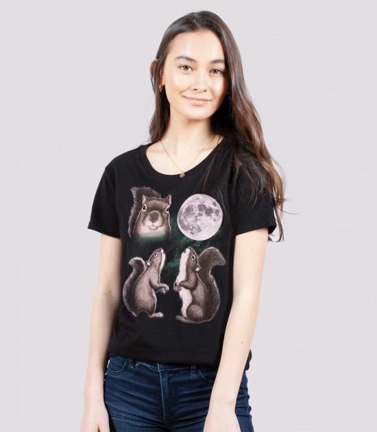 Three Squirrel Moon