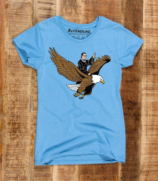 RBG Riding an Eagle