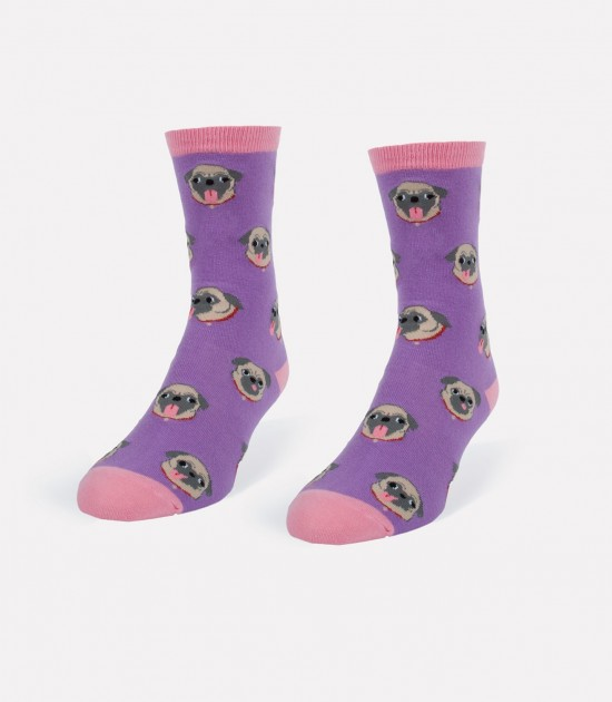 Pugs & Tongues Women's Socks