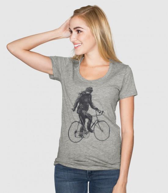 Sasquatch Cyclist