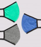 Face Mask (With Nose Wire) 3-Pack II