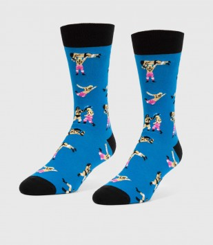 Pro Wrestling Unisex L/XL Socks