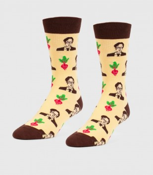 Schrute Farms Unisex L/XL Socks