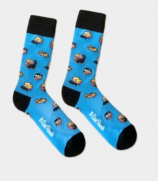 EPIC READS x HEADLINE - BOOKSTORE CATS SOCKS