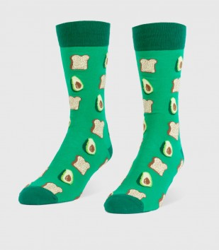 Avocados & Toast Men's Socks