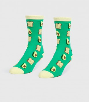 Avocados & Toast Women's Socks