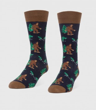 Bigfoot & Nessie Men's Socks