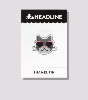 Cool Cat Enamel Pin
