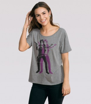Double Solo Slouchy Tee