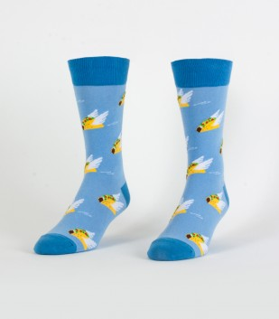 Flying Tacos Men's Socks