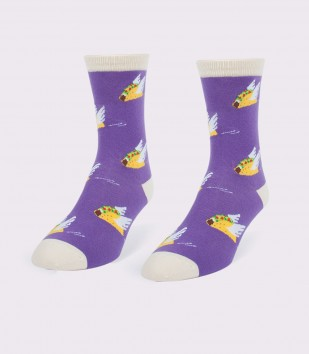 Flying Tacos Women's Socks