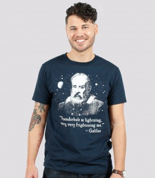46f23cb8d Galileo Men's Funny Queen T-Shirt | Headline Shirts