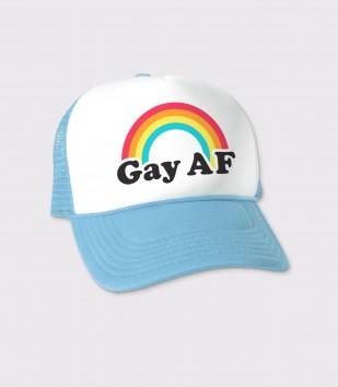 Gay AF Trucker Cap