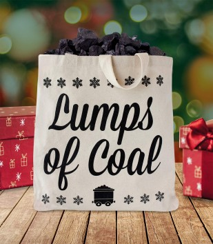 Lumps of Coal Tote Bag
