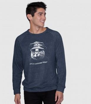 Who's Laughing Meow Sweatshirt