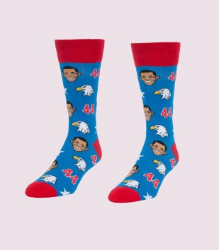 Obamas & Eagles Men's Socks