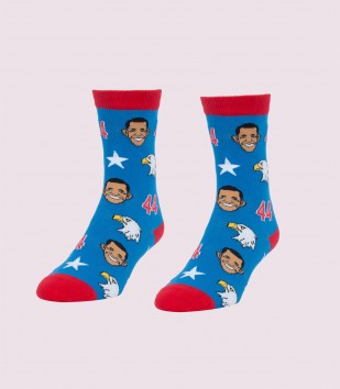 Obamas & Eagles Women's Socks