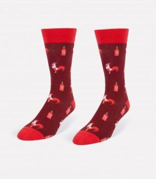 Rooster Sauce Men's Socks