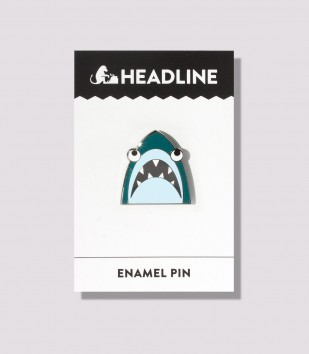Shark! Enamel Pin