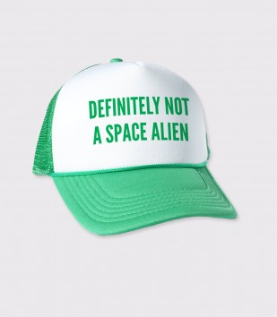 Definitely Not an Alien Trucker Cap