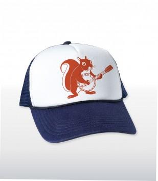 Squirrel Banjo Trucker Cap