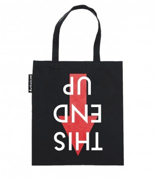 This End Up Tote Bag