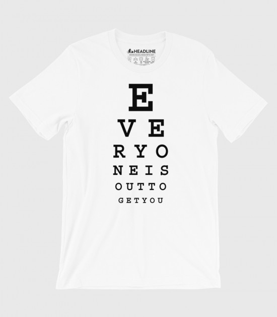 Subliminal Eye Chart (Special Order)