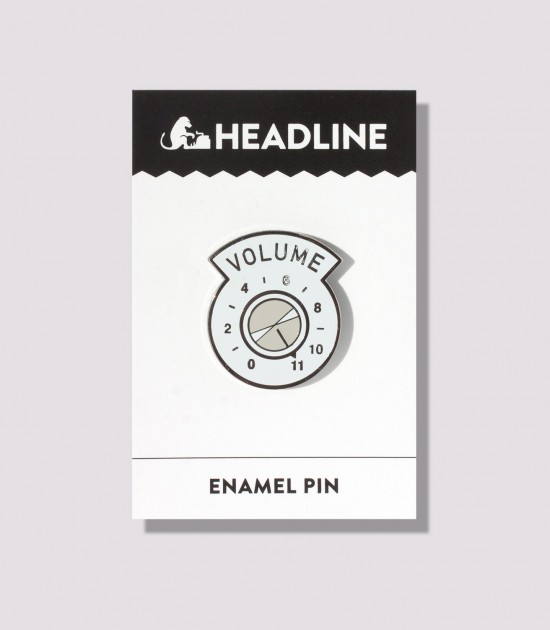 This Goes To 11 Enamel Pin