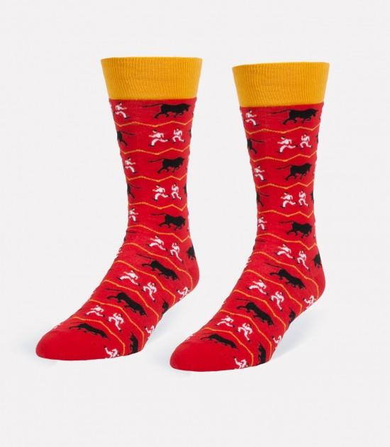 Running of the Bulls Men's Socks
