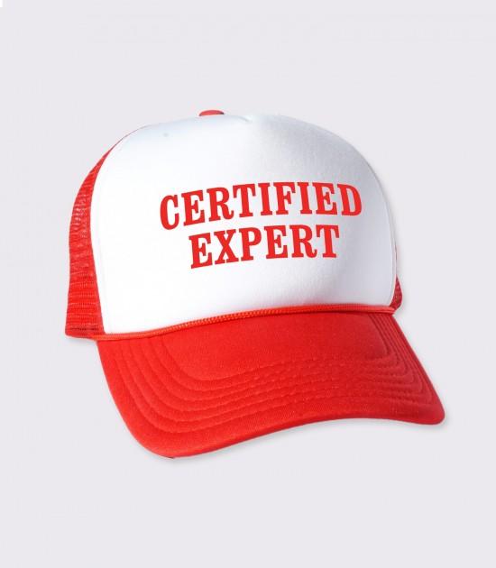 Certified Expert Trucker Cap