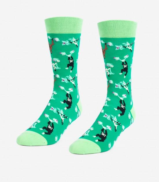 Swinging Primates Unisex Large Socks