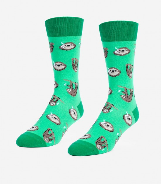 Stoner Sloths Unisex Large Socks