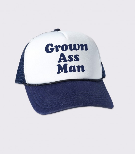 Grown Ass Man Trucker Cap
