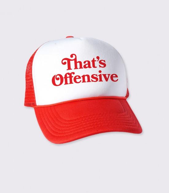 That's Offensive Trucker Cap
