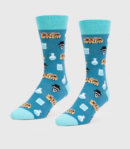 Heisenberg Unisex L/XL Socks