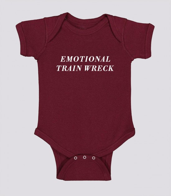 Emotional Trainwreck Onesie