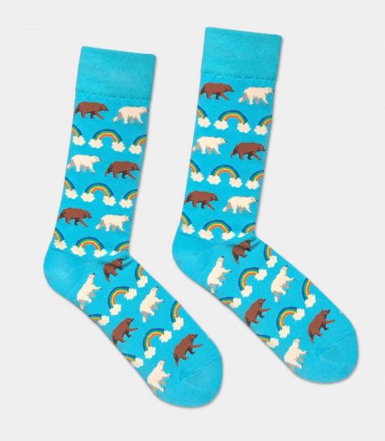 Pride Bears Unisex L/XL Socks