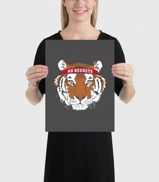 Motivational Tiger Poster