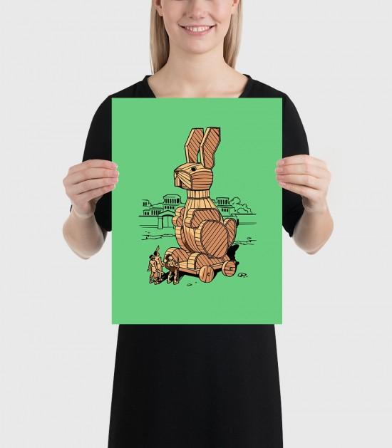 Trojan Rabbit Poster