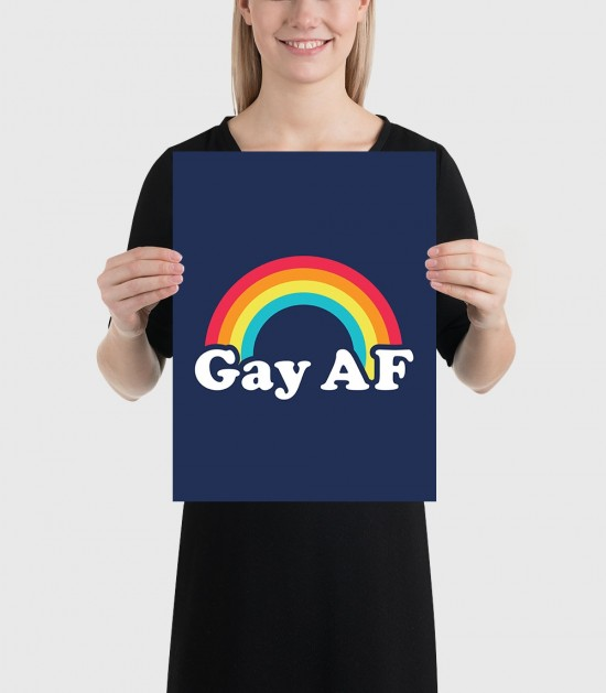 Gay AF Poster