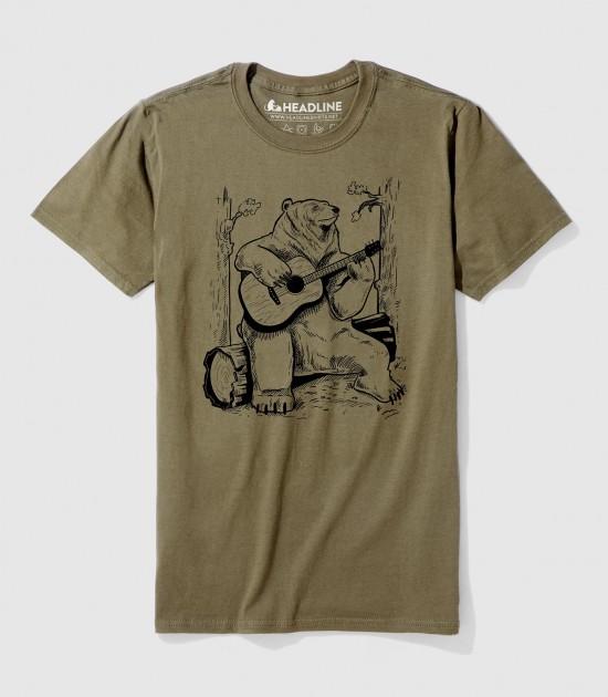 Acoustic Guitar Bear