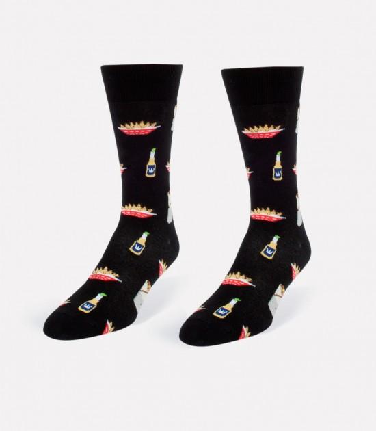 Burritos & Chips Men's Socks