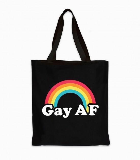 Gay AF Tote Bag