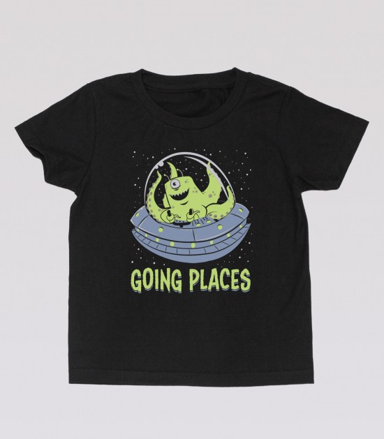 Going Places Kid's Tee