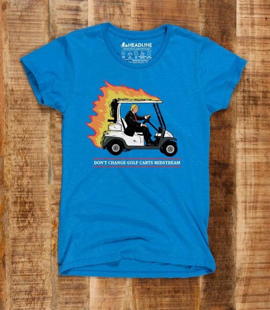 Don't Change Golf Carts Midstream
