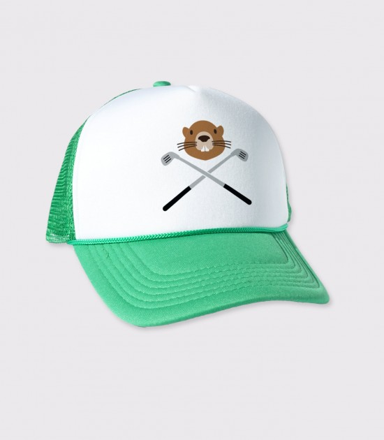 Golphing Gopher Trucker Cap