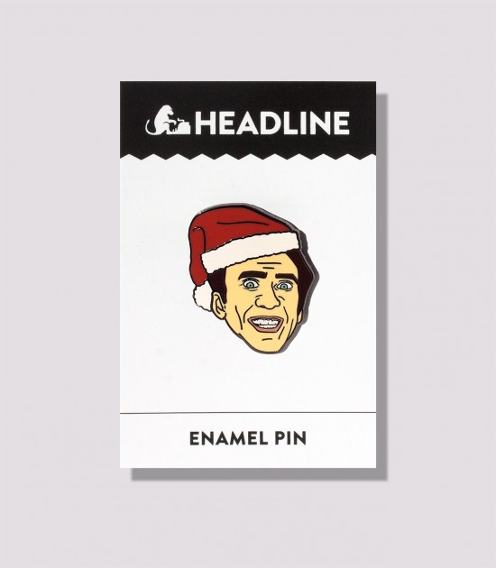 Saint Nick Enamel Pin