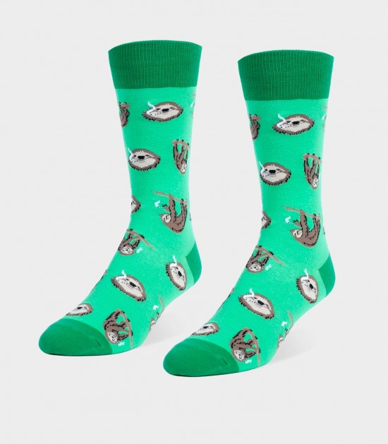 Stoner Sloths Unisex Large Socks