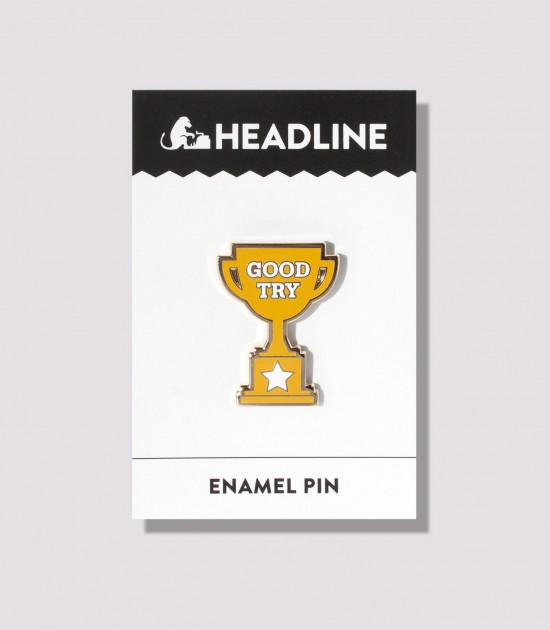 Participation Trophy Enamel Pin